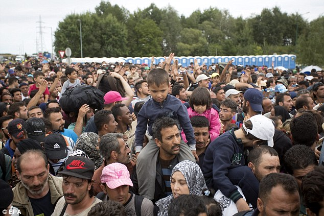 Germans are leaving Germany 'in droves' – Syrian 'Refugees' tell them to get out!