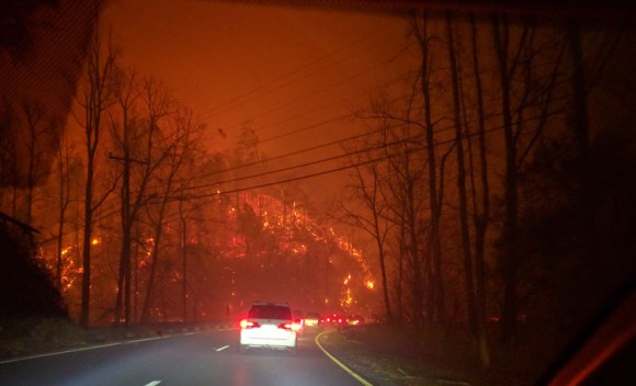 Lessons From the TN Wildfires – Be Ready to Run
