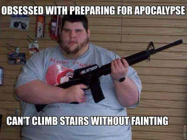 prepper faints