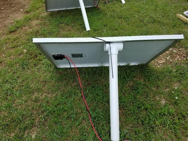 rigged panel
