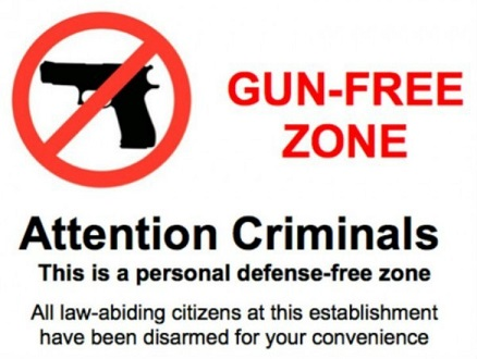 Gun Free Zone. Who cares?