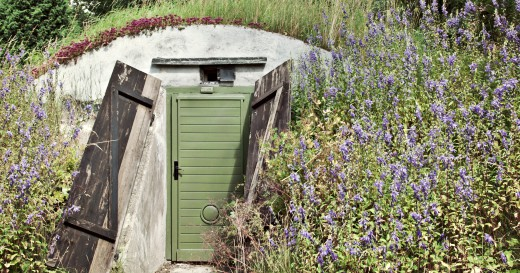 hidden bunker